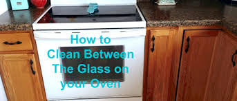 how to clean between the glass on your oven youtube