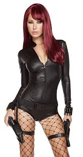 Black Widow Halloween Costumes Avengers Replica Black Widow Costume Costumelook