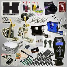tattoo kit without machine hildbrandt professional complete tattoo kit 4 machine coil rotary