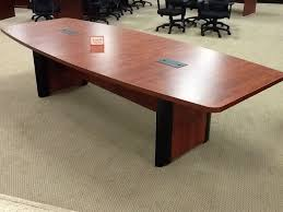 Boat Shaped Boardroom Table Ofm Cp2 Boat Shaped Conference Table With Elliptical Base New