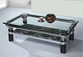 acrylic base glass top coffee table coffee tables decoration