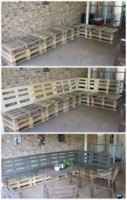 Outdoor Pation Furniture by Diy Pallet Projects 50 Pallet Outdoor Furniture Ideas Pallet