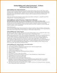 Resume Samples Physical Therapist by 4 Sample Of Medical Billing And Coding Simple Bill