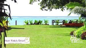 rarotonga wedding or honeymoons muri beach resort youtube