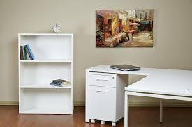 amazon com office star prado 2 shelf bookcase 30 inch white
