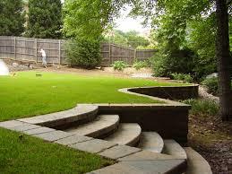 innovative retaining wall ideas for sloped backyard retaining wall