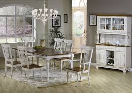 Country Style Dining Room Table Sets Designer Farm Tables Farmhouse Table And Chairs 7 Pc Country