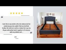 classic brands hercules universal heavy duty metal bed frame