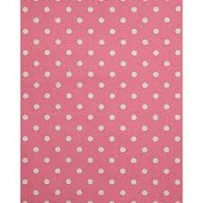 Pink Polka Dot Curtains Cotton Pink Polka Dots Curtain Fabric Material Homescapes