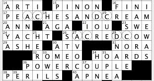 Opulence Crossword Clue Rex Parker Does The Nyt Crossword Puzzle Big Name In Nail Polish