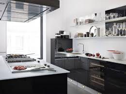 cuisine noir et blanc laqué deco cuisine noir et blanc waaqeffannaa org design d intérieur