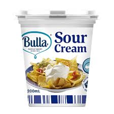 light sour cream nutrition bulla premium sour cream 35 milk fat content 0 from redmart