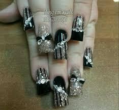 my new bling nails nails pinterest bling nails bling and