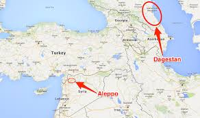 Aleppo Syria Map by Why Russia Is Supporting Assas Business Insider