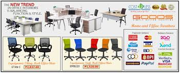 Modern Furniture For Less by Cost U Less Office Furniture Manila Furniture Supplier Manila