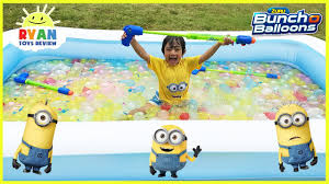 bunch balloons 5000 bunch o balloons water balloons fight for kids despicable me