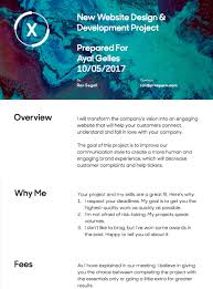 prospero professional proposals for creative freelancers