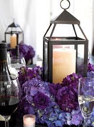 purple wedding centerpieces with glamour centerpieces purple