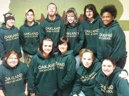 oakland high school yearbook ohs supporters oakland high school