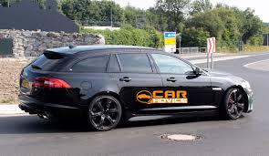 acura station wagon jaguar xfr s sportbrake super station wagon spied photos 1 of 7