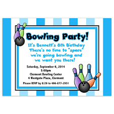 superb bowling party invitation wording by luxurious article