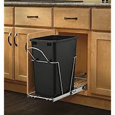 Curio Cabinets Kmart Amazon Com Rev A Shelf Replacement Waste Bin White 35 Quart Home