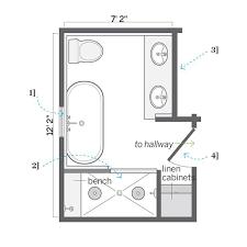 4 X 7 Bathroom Layout Small Bathroom Floor Plans 5 X 8