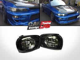 exterior usa vs jdm different front grille subaru impreza black smoke side corner light lamp e mark for 92 00 subaru impreza