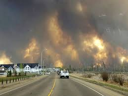 Largest Wildfire In Alberta History by Fort Mcmurray Wildfire In Alberta Canada Forces Evacuation Of