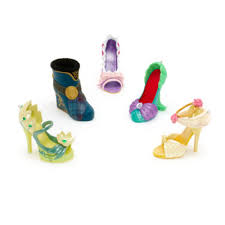 disney parks miniature shoe ornament the princess and the frog