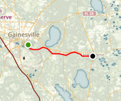 gainesville map gainesville hawthorne state trail florida maps photos for