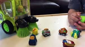 toy cars kids trash pack toys street vehicles trash wheels