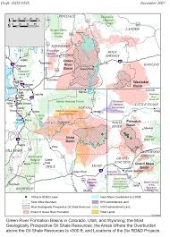 Blm Maps Colorado by Oil Shale And Tar Sands Peis Maps