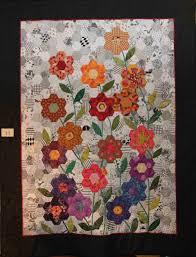flower garden quilt pattern hexagon flower garden flower gardens and english paper piecing