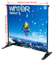 Backdrop Stand Backdrop Stand For Banners Displays Step U0026 Repeat Walls