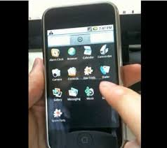 run android on iphone and run android os on iphone 2g 3g and 3gs with iphone