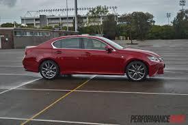 lexus models australia 2013 lexus gs 350 f sport review video performancedrive