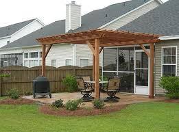Pre Built Pergola by Pergola Kits Home Improvement Resource