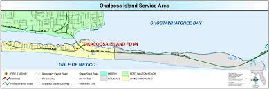 Fort Walton Beach Florida Map by Station U2013 Okaloosa Island Fire Department