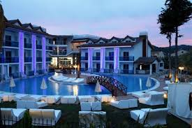 high class blue high class hotel hisaronu dalaman region turkey
