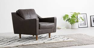 Oxford Armchair Dallas Armchair Oxford Brown Premium Leather Made Com