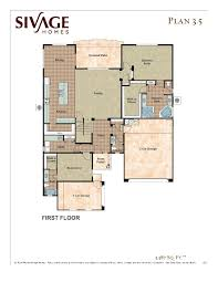 Floor Plans For Large Homes by Sivage Homes
