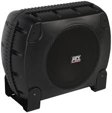 xtl110p powered car subwoofer enclosure mtx audio serious