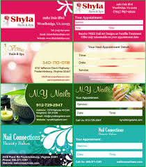professional web design for salons and spas website for nail and
