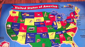 Map Puzzle Usa by Singing The States With Melissa And Doug Usa Floor Puzzle Youtube