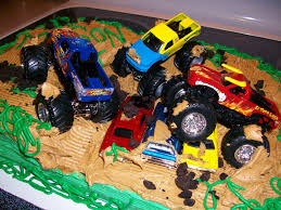 childrens monster truck videos cakes boy birthday cake monster truck image inspiration of cake and