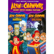 alvin chipmunks scare riffic double feature dvd video