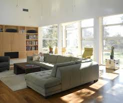 wooden sectional sofas living room contemporary with media storage