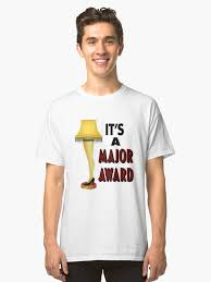 christmas story leg l amazon christmas story leg l it s a major award design unisex t shirt