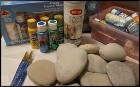 Painting Rocks For Garden Painting Rock Garden Markers Stephi Gardens
